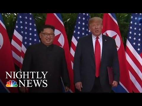 President Donald Trump And Kim Jong Un Will Meet For Second Summit Next Month | NBC Nightly News