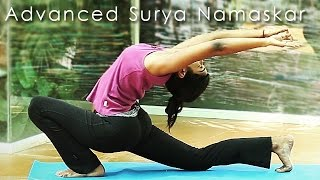 Advanced Yoga: Surya Namaskar - With 20 Back Arches