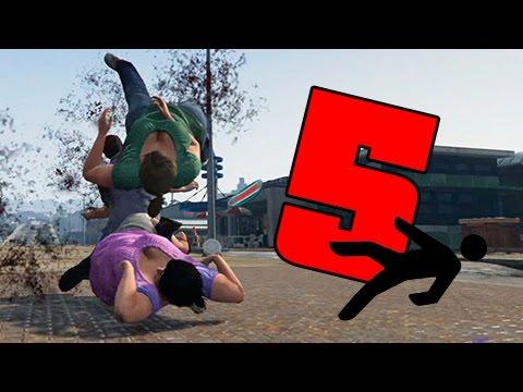GTA | EPIC FAILS 2.0 | Caidas contra personas a camara lenta | 5