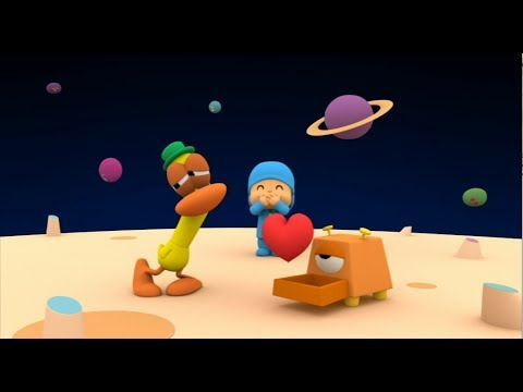 Pocoyo celebrates Love and Friendship. Happy Valentine's Day