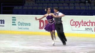 7 C. SMITH / S. EISENBAUER (AUT) - ISU JGP Czech Skate 2013 Junior Ice Dance Short Dance