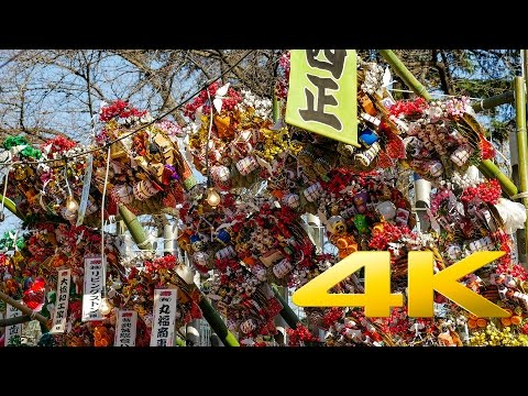 Juninichi-Machi Market - Saitama - 十二日まち - 4K Ultra HD ⛩   🇯🇵