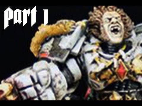 How to paint Space Wolves Space Marine part 1 by Lester Bursley Video