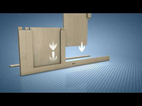 Porta a battente fai da te interior do it yourself swing door youtube - Porta detersivi fai da te ...