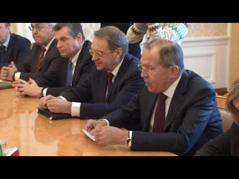 Переговоры С.В.Лаврова и Карима Ага-Хана IV