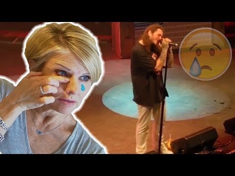 Mom REACTS to Heartbreaking Performance of Post Malone's I Fall Apart LIVE Stoney Tour!