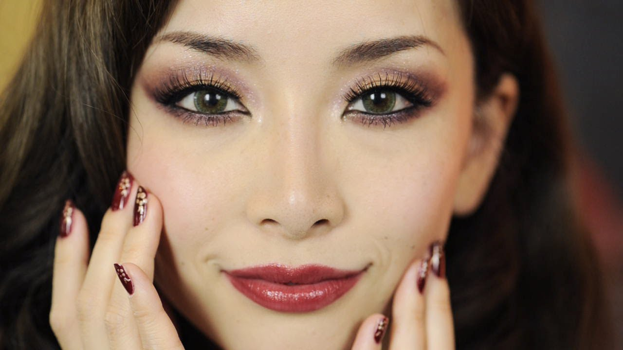 Oriental Holiday Look MakeupNails YouTube