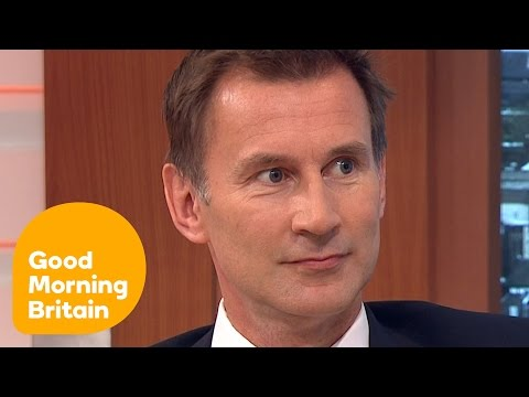 Jeremy Hunt Is Considering Conservative Party Leadership   Good Morning Britain