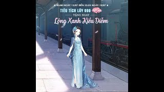 Ngôi Sao Thời Trang _ Sự kiện tiêu tim 999 kc nhận set Lông Xanh Kiều Diễm.