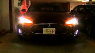 Tesla Model S Exterior Lighting