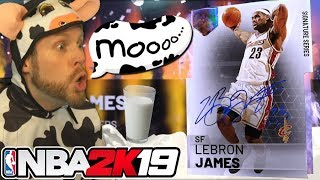I turned into a Cow for LeBron James NBA 2K19