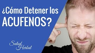 Cómo Detener Los Acufenos | How to Stop The Ringing In Ear | como aliviar los acufenos
