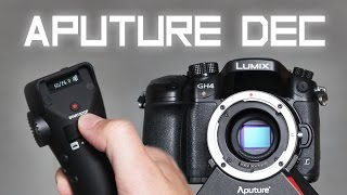 Wireless follow focus and camera control [Aputure DEC]