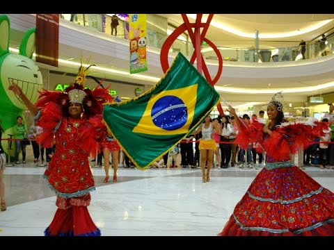 2014 China Luoyang Heluo Culture Tourism Festival - Brazil Folk Dance Ensemble 2