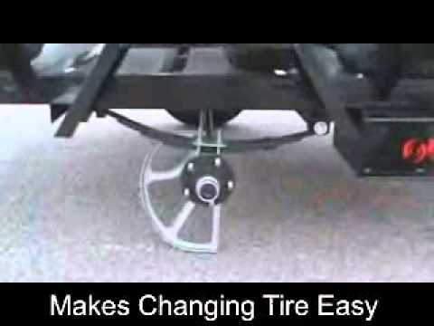 Trailer Axle Jack 1 800 611 4379 Youtube