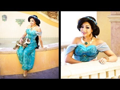 Princess Jasmine Costume!