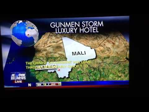 Hostages in west Africa at Mali by Islamic terrorist.  11/19/2015