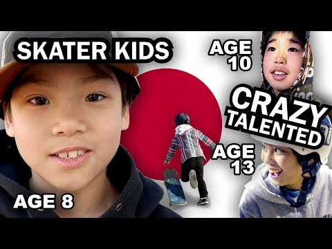 WHY KIDS IN JAPAN ARE TOO GOOD AT SKATING