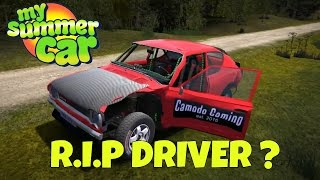 Rally of Death! - My Summer Car Gameplay Crash - EP 14