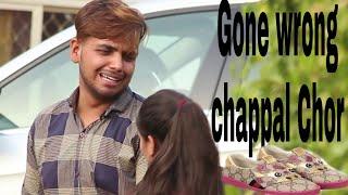 Chappal Chor Prank  Stealing girls Shoes  prank in india  