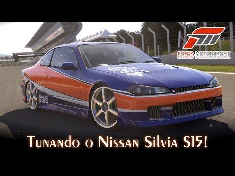 Tunando o Nissan Silvia S15! - Mona Lisa | Forza Motorsport 5 [PT-BR]