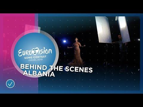 Behind The Scenes at Jonida Maliqi's music video recording of Ktheju tokës - Albania ????????