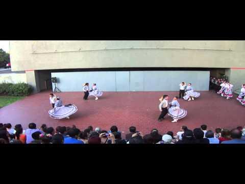 Estampas Mexicanas Ballet Folklórico. Polka bailada a 4 Estilos.