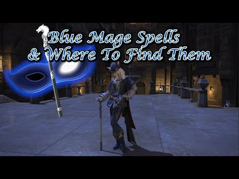 FFXIV: Blue Mage Spells & Where To Find Them