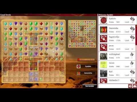 Juego de gemas multijugador online - Casual Jewels