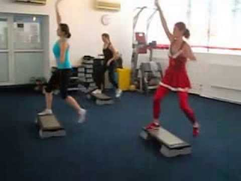 Step Aerobic Cu Ileana video