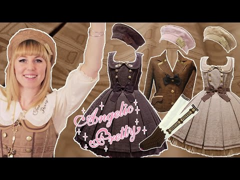 Angelic Pretty Melty Ribbon Chocolate [lolita Unboxing] video