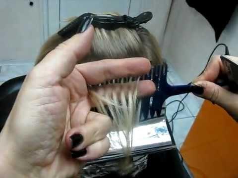 Расчёска для мелирования.