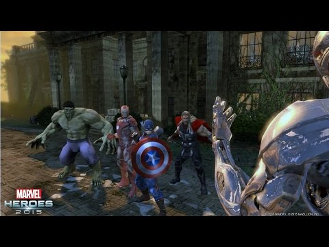 Marvel Heroes 2015 - Content Inspired by Marvel's Avengers: Age of Ultron - In Theaters May 1