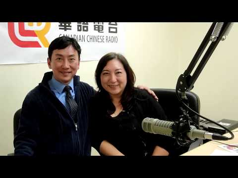 Canadian Chinese Radio Live Interview Artist Peter Suk Sin Chan 華語電台現場訪問陳叔善