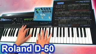 ROLAND D-50 + Strymon Big Sky = Ambient Chillout Music【SYNTH DEMO】