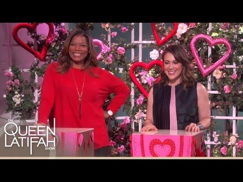 Will Alyssa Milano Beat The Cupid? | The Queen Latifah Show