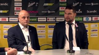 20.10.2016 lehdistötilaisuus SaiPa - Sport