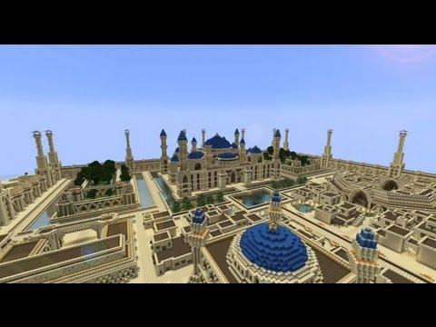 Minecraft Timelapse - Arabius City