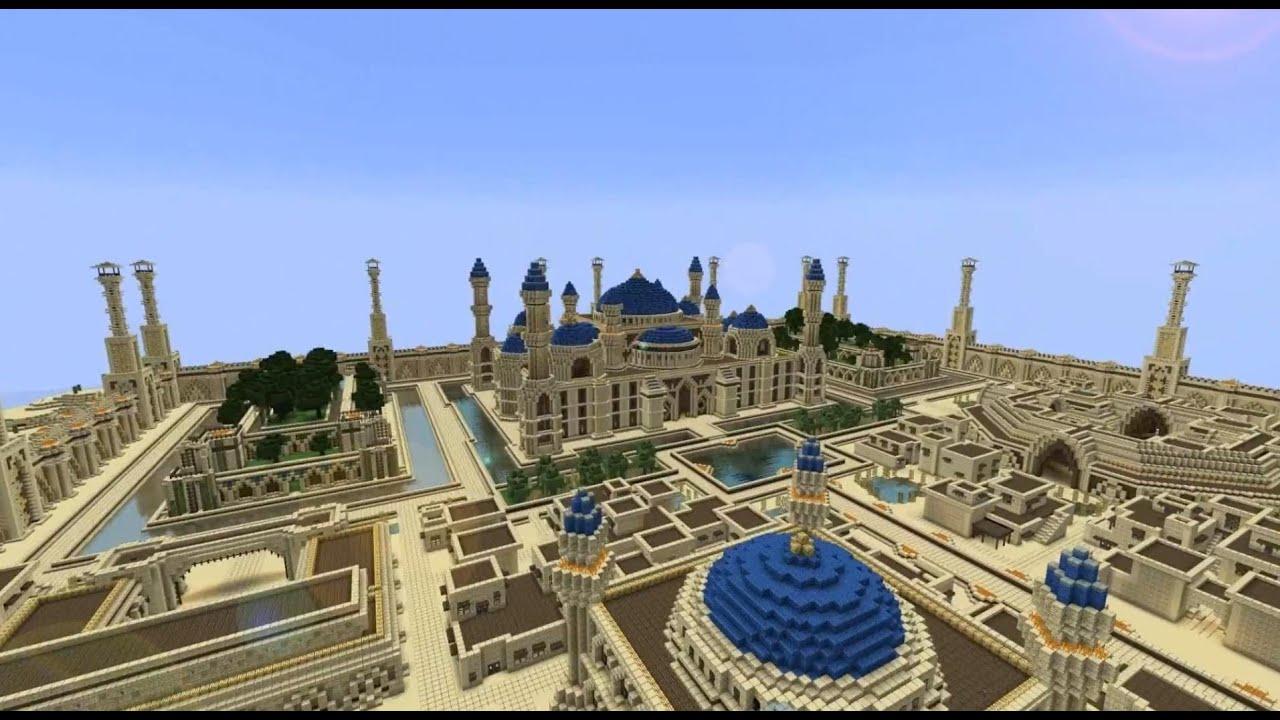 Minecraft Timelapse Arabius