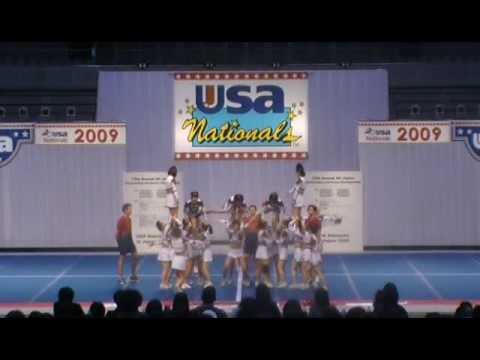 CYCLONES  USA nationals2009 FInal  cheerleading level6