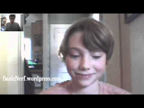 Basic Nerf Interview with Collin (Part 2) (Northwest Region 2011 Nerf Dart Tag Draft Pick)