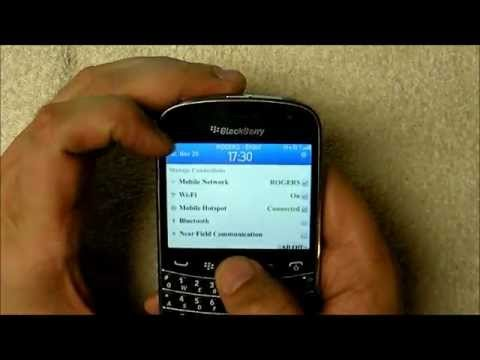 Mobile Hotspot on BlackBerry 7 1