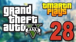 Grand Theft Auto 5 - Part 28 - Cop Genocide (Let's Play / Walkthrough / Guide)