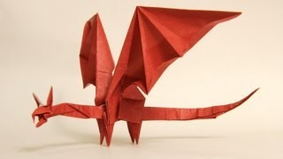 How To Make An Origami Simple Dragon (shuki Kato)