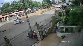 Bike Accident In Mangalore