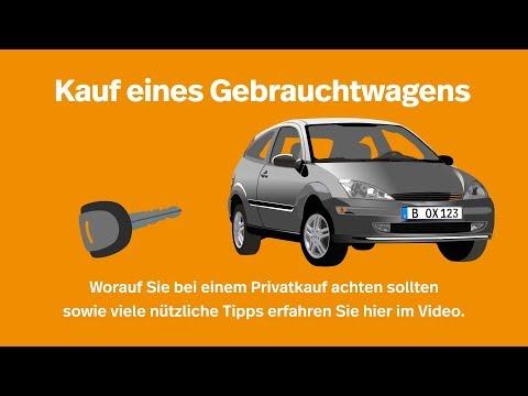 Kauf eines Gebrauchtwagens von Privatanbieter I Kennzeichenbox.de