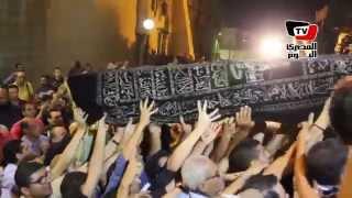 تشييع جنازة الفنان الراحل خالد صالح