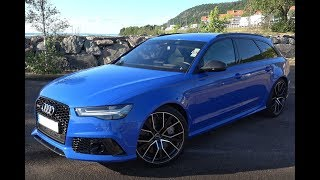 Audi RS6 Performance In Nogaro Blue '4K'