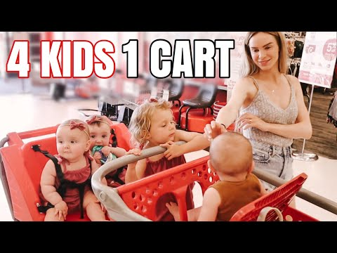 We COULDN'T Believe Who Flew Out to Visit Us! | Shopping with 4 Kids 2 and Under