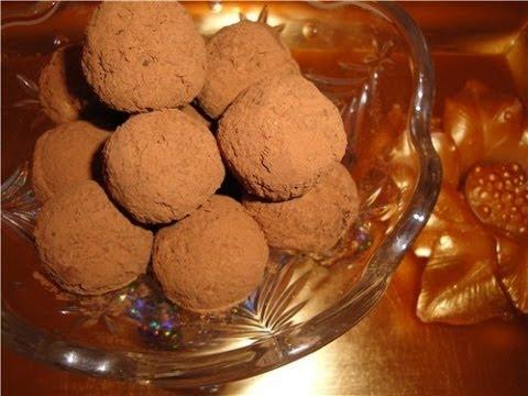 Как сделать домашнюю конфету трюфель